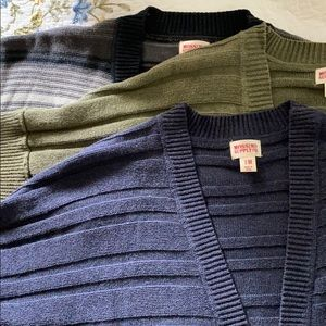 Missimo Supply co sweater vests